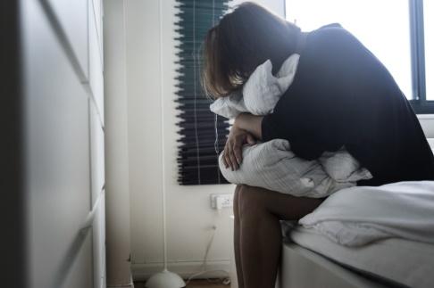 Isabell Höjman/TT En ny rapport visar att psykisk ohälsa bland unga har ökat. Arkivbild.