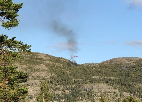 Vilde ines Pedersen En helikopter störtade i Alta i Nordnorge på lördagskvällen. Fem personer omkom. Arkivbild.