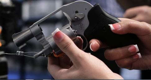 Julie Jacobson/AP/TT En revolver av nyare slag. Arkivbild.