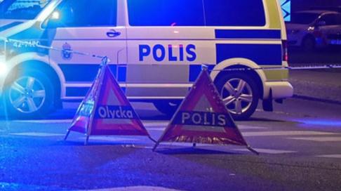 Jeppe Gustafsson/TT Någonting har exploderat på en parkeringsplats i Kristianstad. Arkivbild.