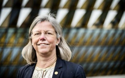 Marcus Ericsson/TT Karin Dahlman-Wright var vikarierande rektor vid Karolinska Institutet och fick jobbet att städa upp där efter Macchiarini-affären. Nu är hon själv misstänkt för forskningsfusk. Arkivbild.