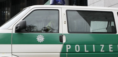 Thomas Kienzle/AP/TT Händelsen utlöste en omfattande polisinsats. Arkivbild.
