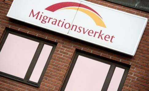 Maja Suslin / TT Under natten har ett antal personer rymt från Migrationsverkets anläggning i Märsta. Arkivbild.