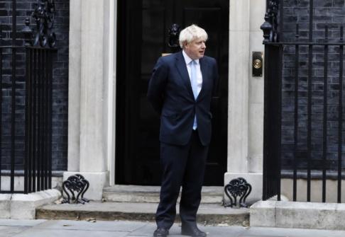 Alastair Grant/AP/TT Brittiska premiärministern Boris Johnson inleder en ny vecka där brexit står i fokus. Arkivbild.