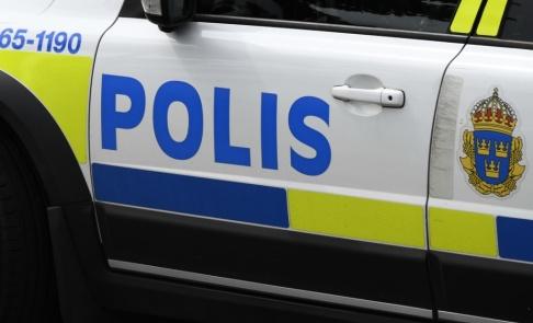 Johan Nilsson/TT Polis i Ludvika tog tjuvens flykt med ro. Arkivbild.