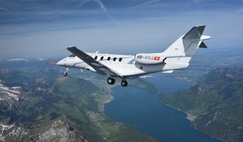Pilatus Ett Pilatusflygplan av typen PC-24, som Svenskt Ambulansflyg nu köper i sex exemplar.
