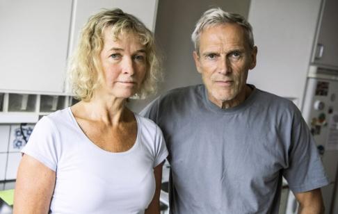 Claudio Bresciani/TT Jan Bagge och Maria Nylander, som bor i Bergshamra, riskerar en 60 procentig hyreshöjning efter en renovering av sin lägenhet.
