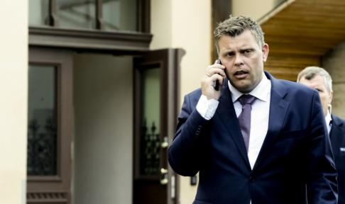 Vidar Ruud/NTB Scanpix/TT Norges justitieminister Jøran Kallmyr. Arkivbild.