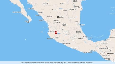 Massgraven i en brunn upptäcktes utanför staden Guadalajara i delstaten Jalisco i Mexiko.