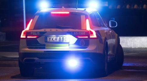 Johan Nilsson/TT Polisen utreder skott mot ett fordon i Södra länken i Stockholm. Arkivbild.