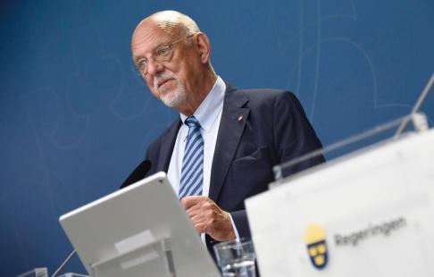 Thommy Tengborg/TT EU-minister Hans Dahlgren. Bild från i augusti.