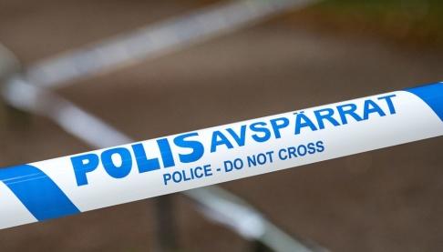 Johan Nilsson/TT Skott har avlossats mot en lägenhet i Malmö. Flera personer befann sig i lägenheten, säger polisen. Arkivbild.