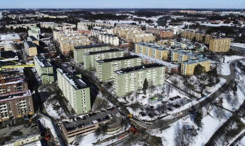 Fredrik Sandberg/TT Investeringsstödet till hyresrätter ökas enligt den kommande höstbudgeten. Arkivbild.