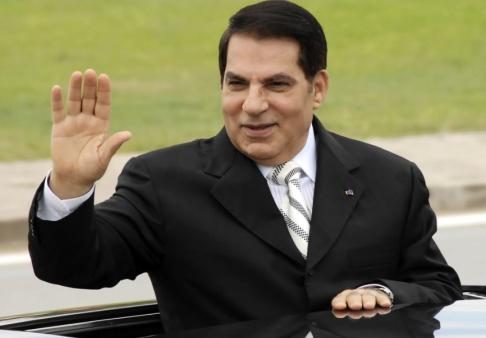 Hassene Dridi/AP/TT Zine al Abidine Ben Ali medan han ännu var president i Tunisien. Bilden är från 2009.