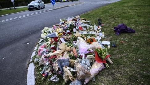 Johan Nilsson/TT Här mördades en 22-årig man förra söndagen. Efter det blev centrala Ishøj en av tre visitationszoner.