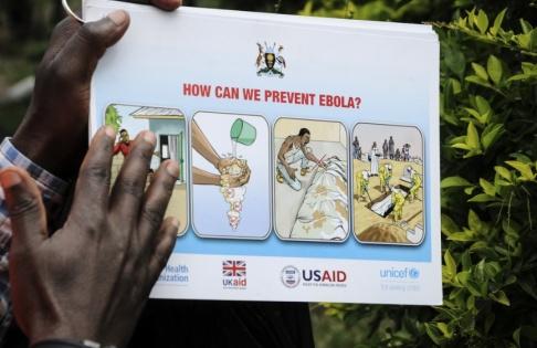 David Goldman/AP/TT Tanzania har inte gett information om misstänkta ebolafall, meddelar WHO. Arkivbild.
