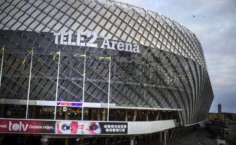 Staffan Löwstedt/SvD/TT Flera personer har skadats i ett bråk inför derbyt på Tele 2 Arena. Arkivbild.
