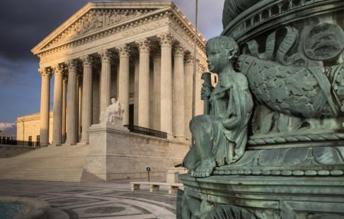 J. Scott Applewhite/AP/TT USA:s högsta domstol. Arkivbild.