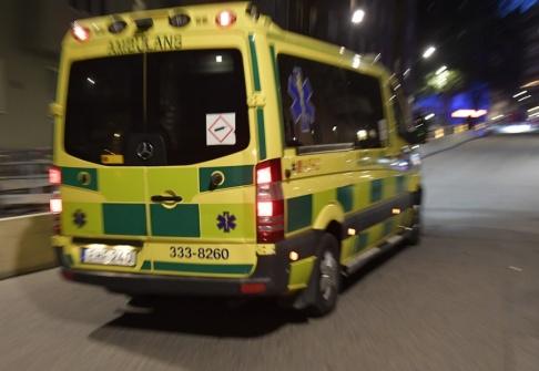 Anders Wiklund/TT Flera personer har skadats i en trafikolycka. Arkivbild.