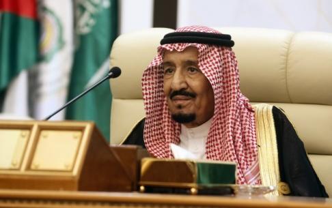 Amr Nabil/AP/TT Saudiarabiens kung Salman. Arkivbild.