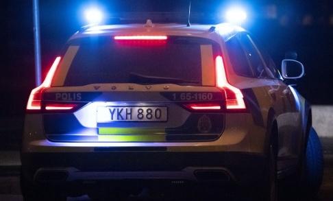 Johan Nilsson/TT Nio personer har gripits misstänkta för grovt vapenbrott i Husby i nordvästra Stockholm. Arkivbild.