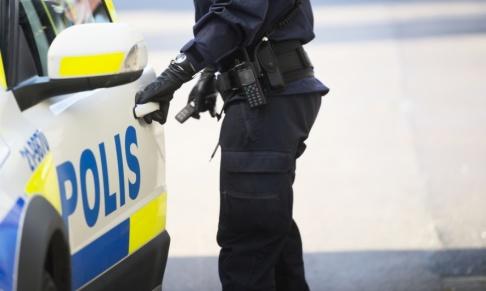 Fredrik Sandberg / TT När polisen gjorde tillslag mot en lägenhet i Gävle hittades ett misstänkt farligt föremål. Arkivbild