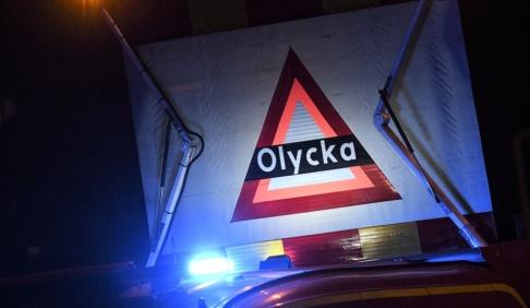 Johan Nilsson/TT Tre personer har skadats allvarligt i en olycka söder om Helsingborg. Arkivbild.