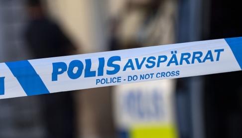 Johan Nilsson/TT Avspärrningar i Kristianstad, på bilden vid ett våldsbrott i augusti.
