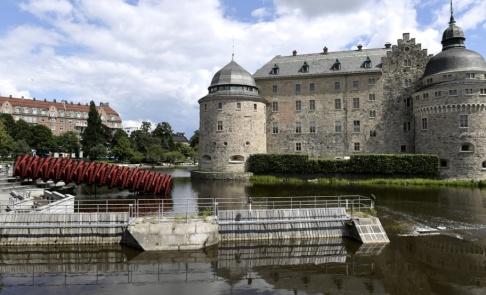 Janerik Henriksson/TT En kvinna misshandlades svårt i Slottsparken i Örebro. Arkivbild.