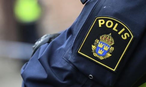 Johan Nilsson/TT Polisen grep tre män efter en kort biljakt. Arkivbild.