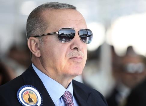 Presidential Press Service/AP/TT Turkiets president Recep Tayyip Erdogan. Arkivbild.