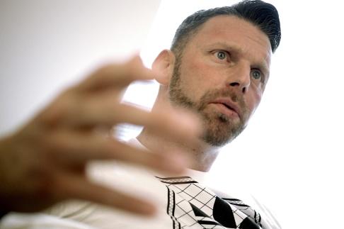 """Janerik Henriksson/TT Peter Svensson, verksamhetsansvarig för Fryshusets avhopparprogram """"Passus""""."""