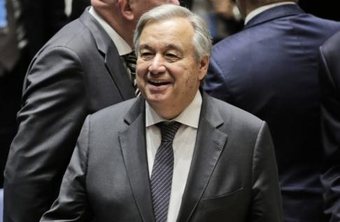Seth Wenig/AP/TT FN:s generalsekreterare António Guterres. Arkivbild.