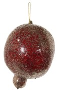 Granatäpple röd med glitter