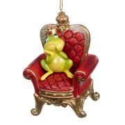 Prinsgroda på tron