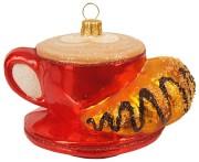 Kaffekopp med Croissant