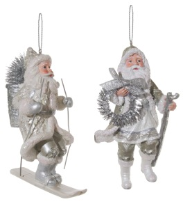 Tomte i silver 2-pack