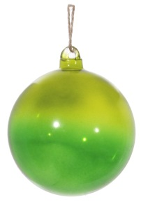 Glaskula grön