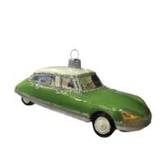 Fransk grön bil