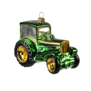 Grön traktor