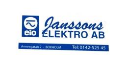 Janssons Elektro Boxholm