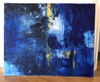Akrylmålning -