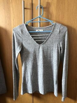 Grå tröja från Hollister -