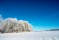 medelplana vinter rimfrost -