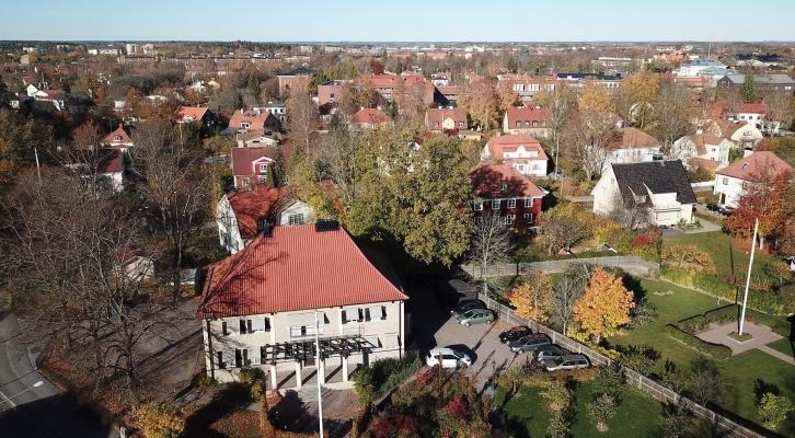 Hitta till vårdcentralen Aros Hälsocenter i Uppsala