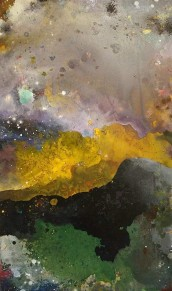 """""""The one who sees"""" 60 x 100 cm 7800,-"""