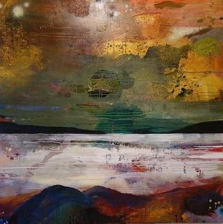 """""""Beyond"""" 150 x 150 cm 17500,-"""