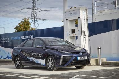 Toyota var med Mirai var tidigt ute med bränsleceller. Bildkälla: Creative commons, ALISTER THORPE