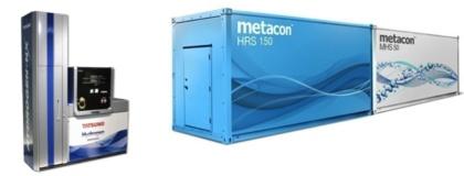 Illustrationen ovan visar en komplett vätgastankstation, där Metacons reformer är den centrala enheten. Bildkälla Metacon.se, företrädesemission april 2019
