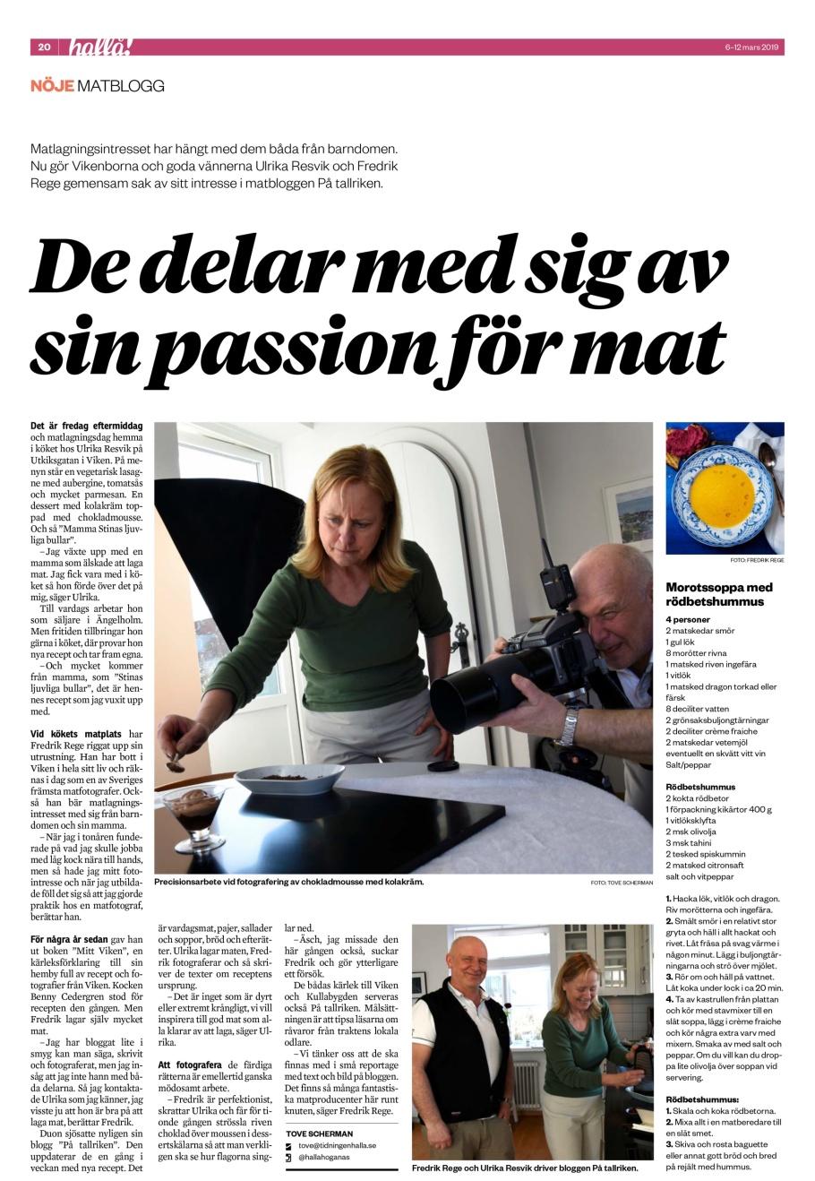 Reportage-tidningen-Hallå!-matblogg-På tallriken